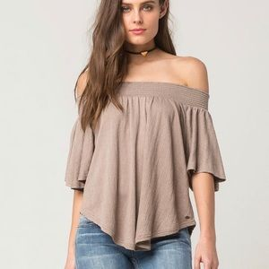 O'NEILL Off The Shoulder Womens Top